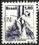 Sellos del Mundo : America : Brasil : Profesiones - cortador de carnauba