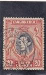 Stamps : Africa : Uganda :  GEORGE V