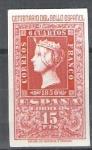 Stamps Europe - Spain -  1078 Centenario del sello español.