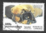 Stamps Cambodia -  2022 - Dachshund