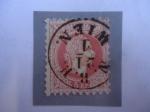 Stamps : Europe : Austria :  Emperador, Franz Joseph I de Austria (1830-1916) -Francisco José I de Austria.