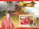 Sellos de Africa - Comores -  Bomberos Célebres, Peter J. Ganci Jr. y Red Adair