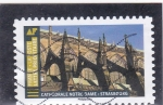 Stamps France -  CATEDRAL NOTRE-DAME