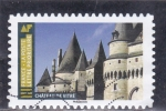 Stamps France -  CASTILLO DE VITRE