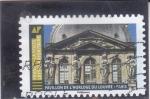 Sellos del Mundo : Europa : Francia :  PEBELL覰 DE L'HORLOGE DU LOUVRE-PARIS