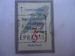 Stamps : Europe : Netherlands :  Mapa de los Países bajos - Asociación  de Municipios  Holandeses-1912-1987