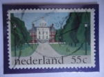 Stamps : Europe : Netherlands :  Palacio Real