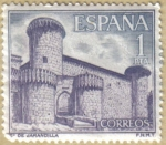 Stamps of the world : Spain :  Castillos de España - Jarandilla en Caceres