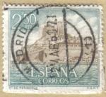 Stamps Europe - Spain -  Castillos de España - Peñiscola en Castellon