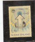 Sellos del Mundo : Europa : Finlandia : Sociedad Europea de Física