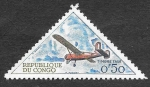 Stamps Republic of the Congo -  J40 - Avión Broussard