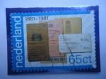 Sellos del Mundo : Europa : Holanda : Servicios de PTT: Libretas de Ahorros, Giros y Transferencias - Centenario, 1881-1981.