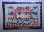 Sellos del Mundo : Europa : Holanda : Pastel de Cumpleaños - Signos del Zodíaco - Estampillas de saludos