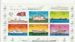 Sellos del Mundo : Asia : Corea_del_norte : Barcos