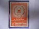 Sellos del Mundo : America : Venezuela : VIII Juegos  Deportivos Centroamericanos y del Caribe, Caracas Venezuela 1959