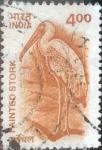 Stamps India -  Scott#1910 intercambio 0,20 usd, 4 rupias 2001