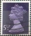 Stamps United Kingdom -  Scott#MH56 intercambio 0,35 usd, 5,5 p. 1973