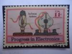 Sellos del Mundo : America : Estados_Unidos : Progress in Electronics - Progreso en Electrónica - De Forest Audions -