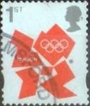 Sellos del Mundo : Europa : Reino_Unido : Scott#2981 ji intercambio 0,75 usd, 1st. 2012