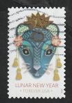 Stamps America - United States -  Año Nuevo Chino