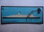 Sellos del Mundo : Europa : Reino_Unido : RMS Queen Elizabeth II - Serie: Barco