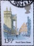 Stamps United Kingdom -  Scott#912 intercambio 0,25 usd, 13,5 p. 1980