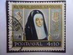 Sellos del Mundo : Europa : Portugal : Queen Leonor de Viseu (1458-1525) - Queen Leonora.