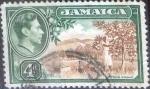 Sellos del Mundo : America : Jamaica : Scott#122 intercambio 0,20 usd, 4 d. 1938