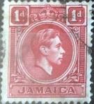 Sellos del Mundo : America : Jamaica : Scott#117 intercambio 0,20 usd, 1 d. 1938