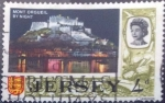 Stamps : Europe : Jersey :  Scott#11, intercambio 0,20 usd. 4 d. 1969