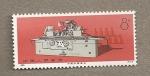 Stamps China -  Máquina herramienta