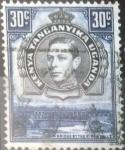 Stamps : Africa : Kenya :  Scott#76 , intercambio 0,35 usd. 30 cents. 1942
