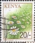 Stamps : Africa : Kenya :  Scott#756 , intercambio 0,95 usd. 20 sh. 2001