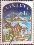Stamps : Europe : Lithuania :  Scott#754 , intercambio 0,35 usd. 1 lt. 2003