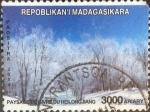 Stamps : Africa : Madagascar :  Scott#xxxx , intercambio 3,00 usd. 3000 ariary 2014