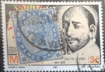 Sellos del Mundo : Europa : Malta : Scott#771 , ji intercambio 0,25 usd. 3 cents. 1991