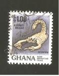 Sellos de Africa - Ghana -  890