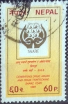 Stamps : Asia : Nepal :  Scott#472 , crf intercambio 0,20 usd. 60 p. 1989