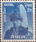 Stamps : Asia : Nepal :  Scott#145 , intercambio 0,20 usd.  2 p. 1962