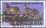 Stamps : Africa : Nigeria :  Scott#297 , intercambio 0,20 usd.  10 k. 1973