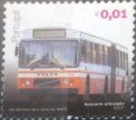 Stamps : Europe : Portugal :  Scott#3184 , nfb intercambio 0,25 usd. 01€. 2010