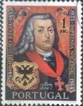 sello : Europa : Portugal : Scott#1041 , intercambio 0,20 usd. 1 esc. 1969