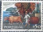 sello : Europa : Portugal : Scott#1028 , intercambio 0,20 usd. 0,50 esc. 1968
