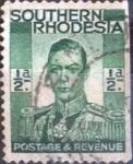 Sellos del Mundo : Africa : Zimbabwe : Scott#42 , intercambio 0,20 usd. 0,5 a. 1937