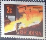 Sellos del Mundo : Africa : Zimbabwe : Scott#276 , intercambio 0,20 usd. 2 c. 1970