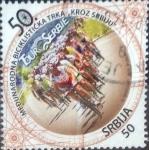 Sellos del Mundo : Europa : Serbia : Scott#514 , intercambio 1,75 usd. 50 d. 2010