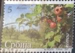 sello : Europa : Serbia : Scott#368 , intercambio 0,20 usd. 5 d. 2007