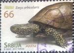 Stamps : Europe : Serbia :  Scott#595d , nfb intercambio 1,50 usd. 66 d. 2012