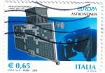 Sellos de Europa - Italia -  Europa Astronomía Agille Dell´asi  Satellite Astronomico