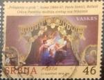 Sellos del Mundo : Europa : Serbia : Scott#xxxx , intercambio 1,00 usd. 46 d. 2014